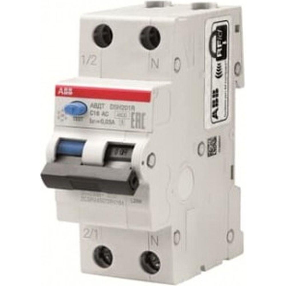 Автоматический выключатель дифференциального тока ABB Basic M АВДТ, 1P+N, 20А, C, 30мA, AC, BMR415C20 2CSR645041R1204