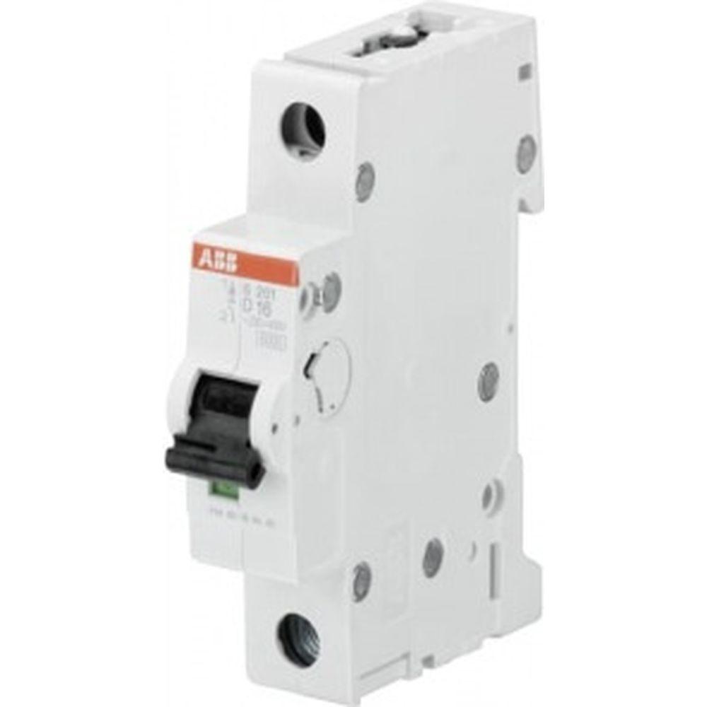 Автоматический выключатель ABB 1-полюсной S201 D6 2CDS251001R0061