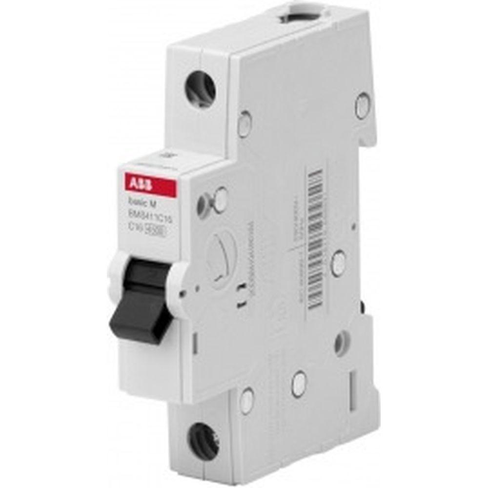 Автоматический выключатель ABB, 1P, 10A, C, 4.5кА, BMS411C10 2CDS641041R0104