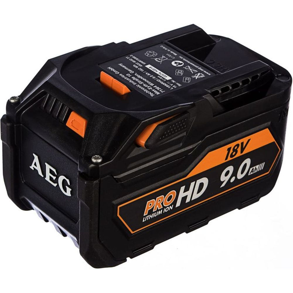 Аккумулятор L1890RHD (18В; 9 А*ч; Li-Ion) AEG 4932464231