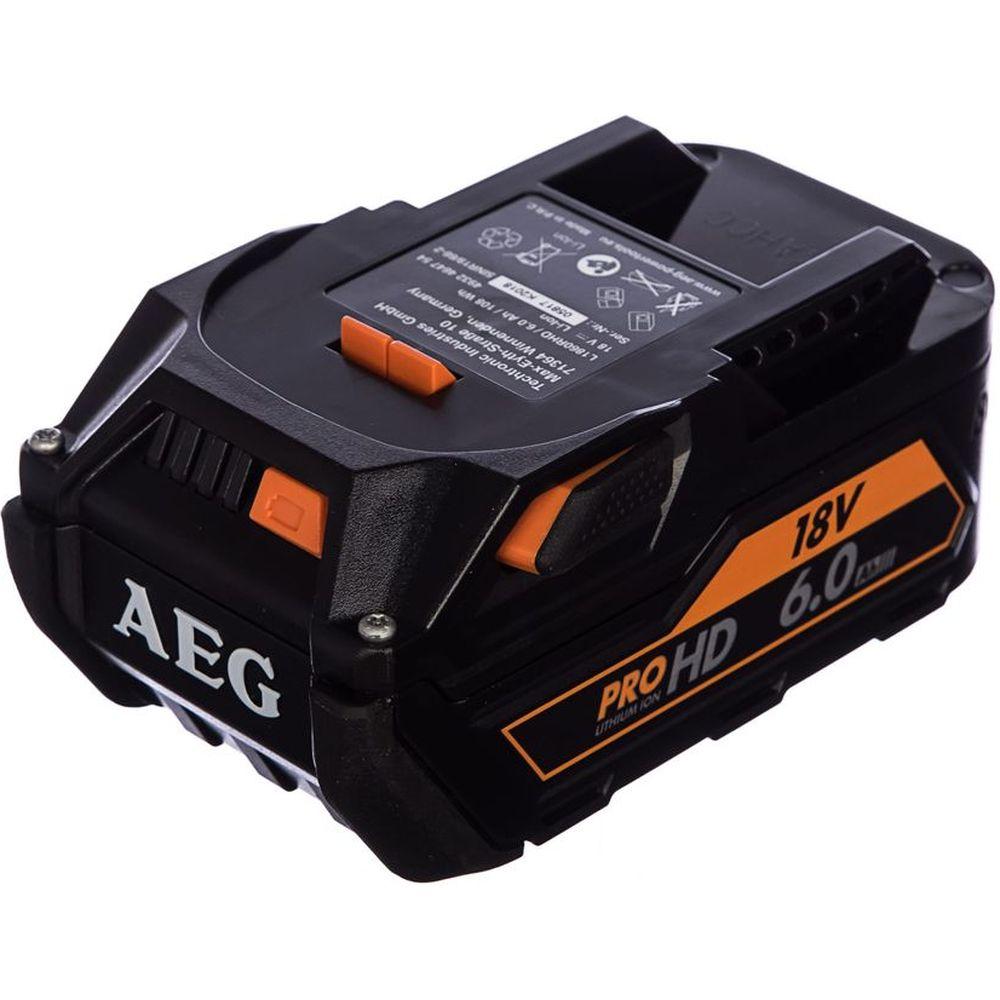 Аккумулятор L1860RHD (18В; 6 А*ч; Li-Ion) AEG 4932464754