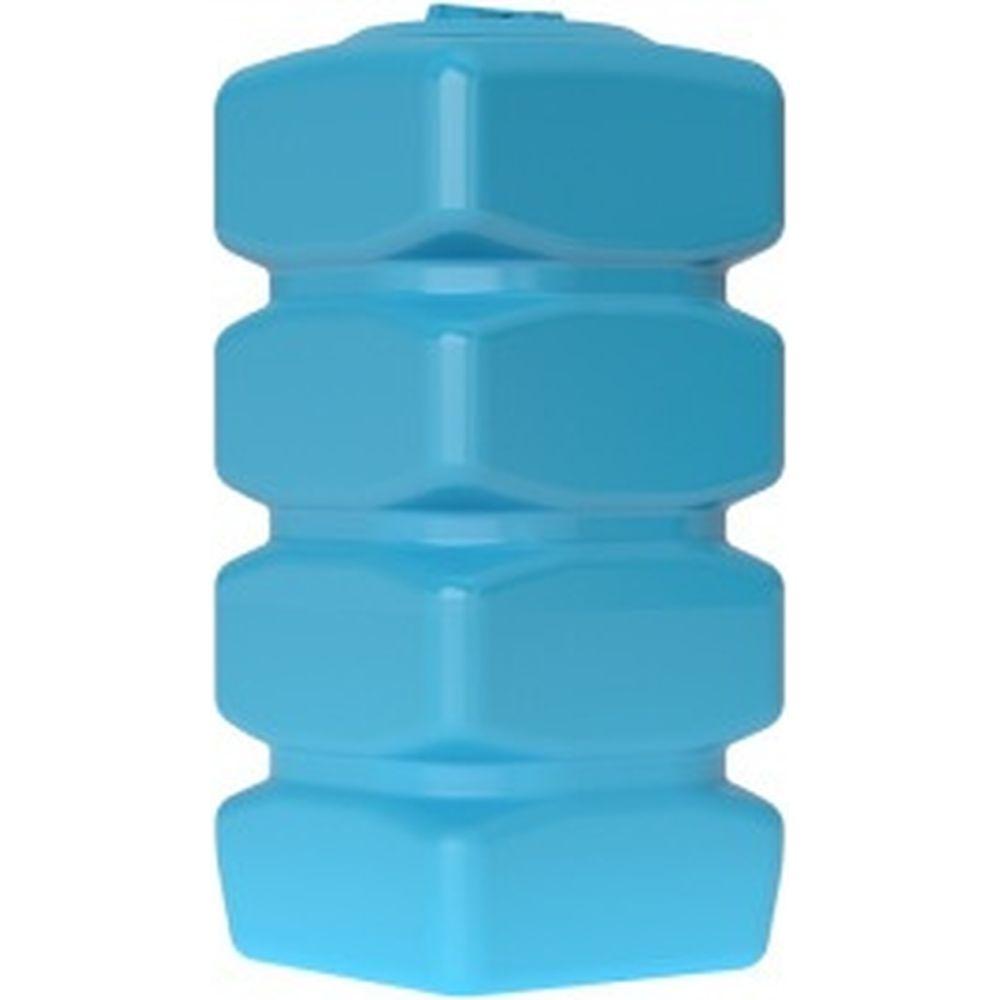 Бак для воды с поплавком Акватек Quadro W-750 синий 0-16-2250