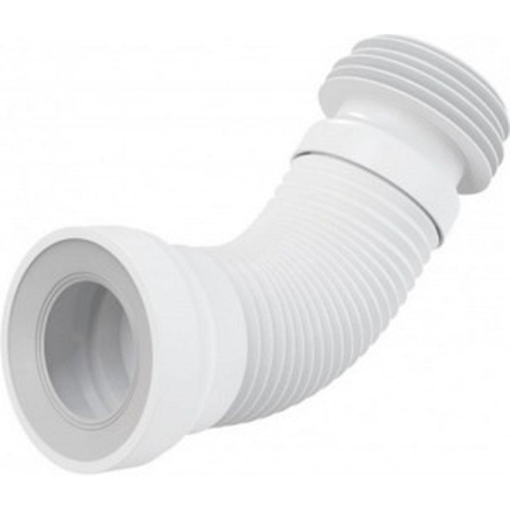 Гофра для унитаза, для чугунных труб Alca Plast 110 мм. L-240-600 мм A97 025-1186
