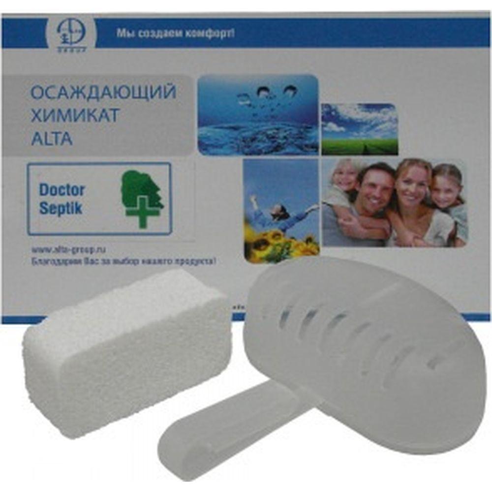 Осаждающий химикат Alta Group Doctor Septik Mega Pack таблетки, 40шт 00000001147
