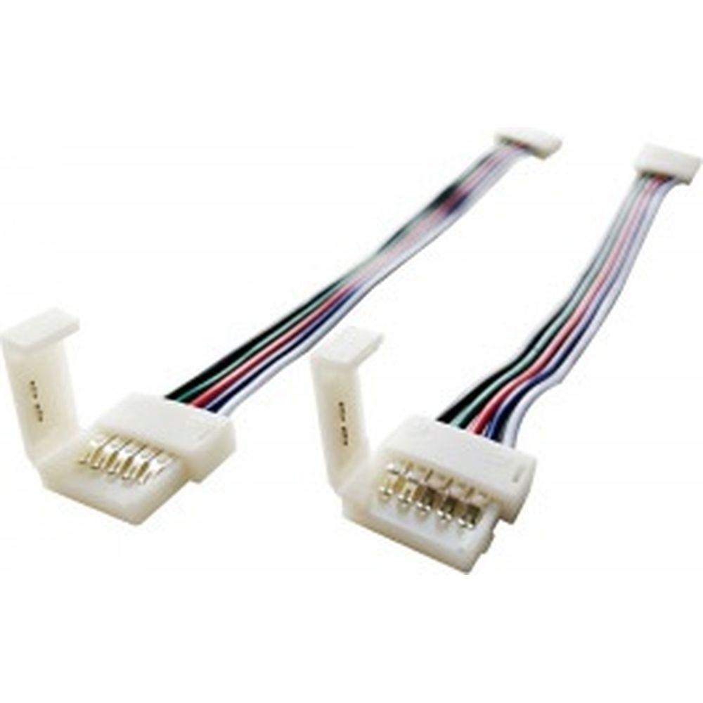 Комплект коннекторов APEYRON для RGBW светодиодной ленты 12,c AWG22+GRBW кабелем 09-74