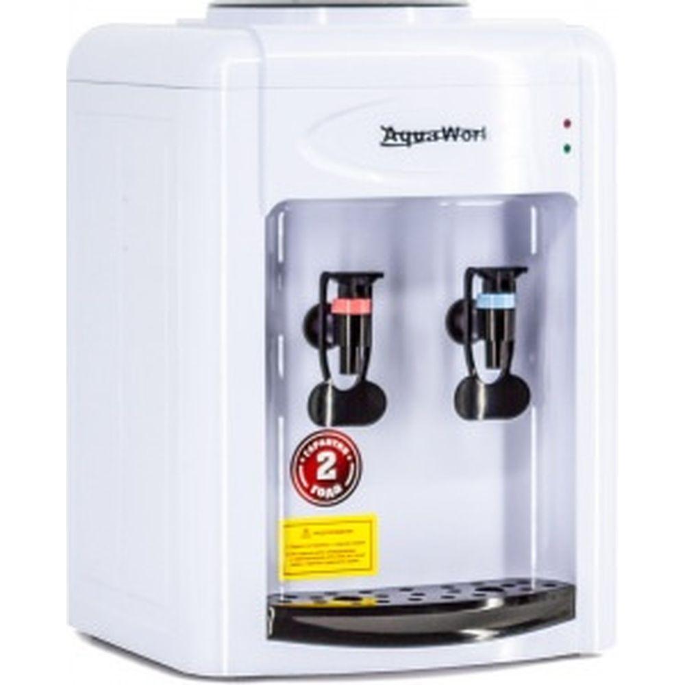 Кулер для воды Aqua Work 0.7TWR бело черный 24609