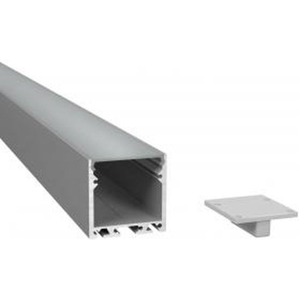 Алюминиевый профиль ArdyLight универсальный ALS-3535 anod 2.0 с экраном комплект 50109-1