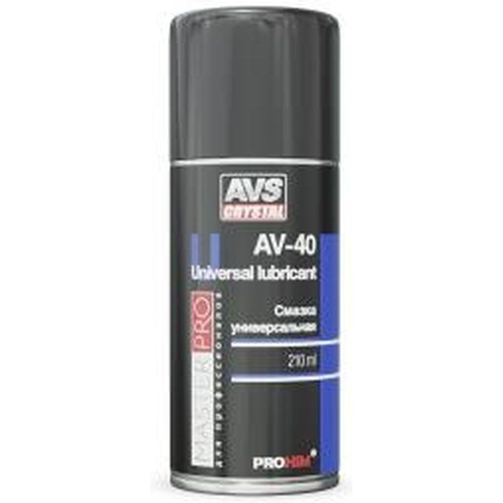 Смазка AVK-341 многофункциональная проникающая AV-40 (210 мл; аэрозоль) AVS A40258S