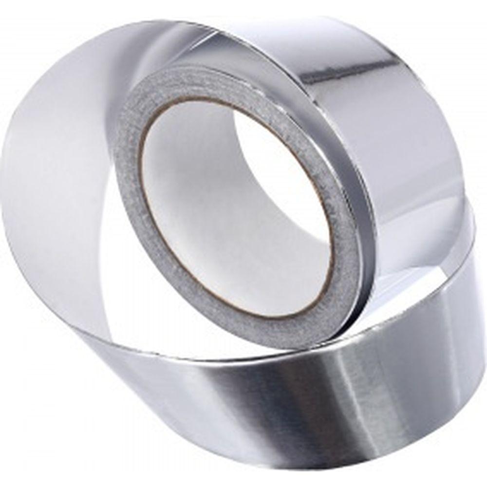 Алюминевая клейкая лента для термоизоляции Банные штучки 48 мм, 25 м 3714