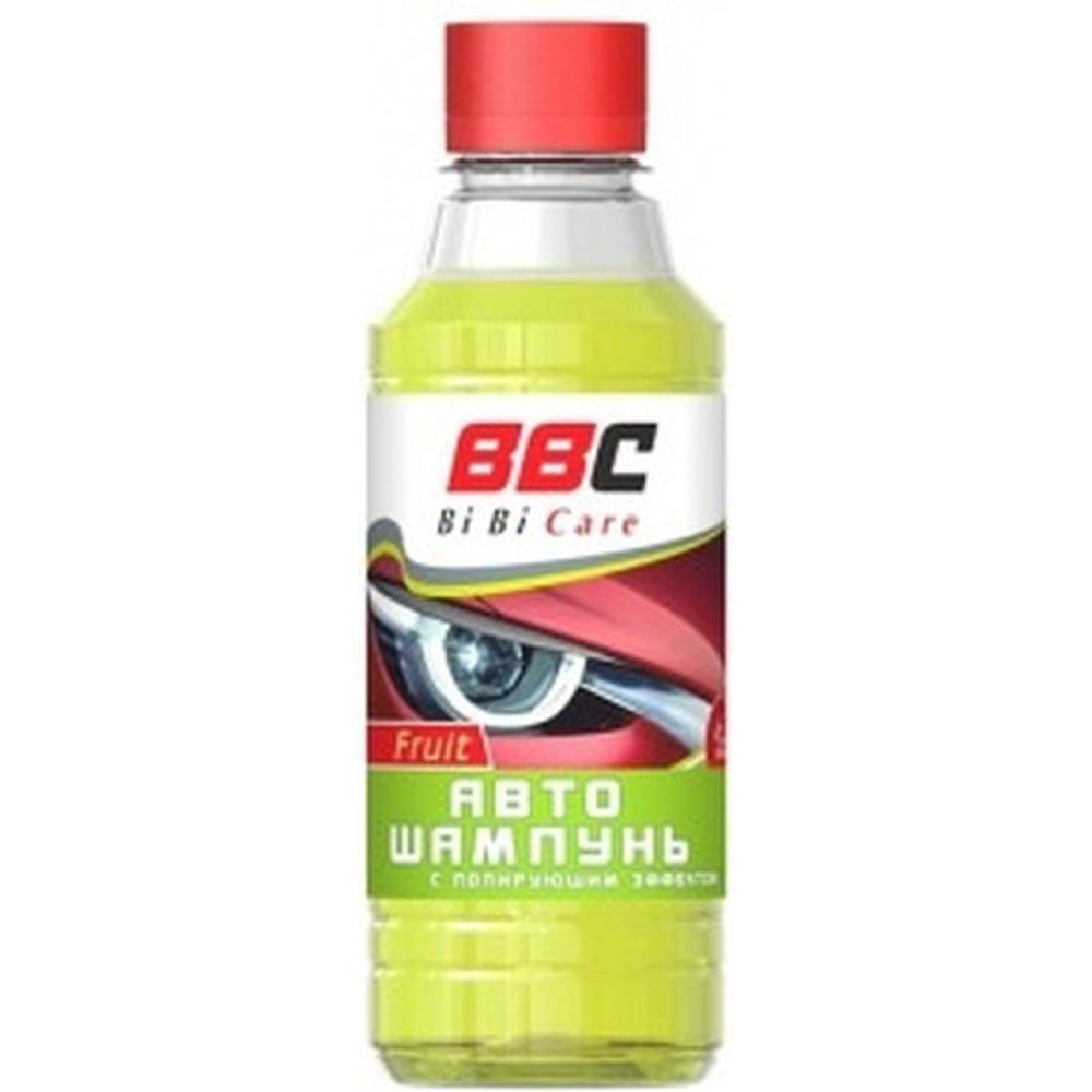 Автошампунь с полирующим эффектом BiBiCare фруктовый 280 мл 4103
