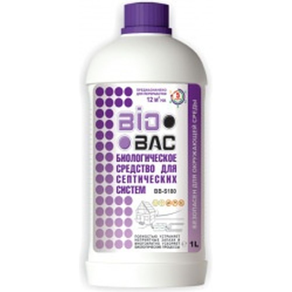 Биологическое средство для септических систем БиоБак BB-S180