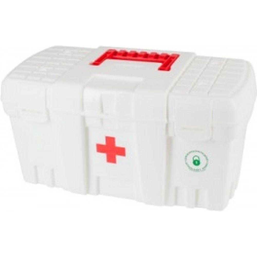 Большая белая аптечка Скорая помощь BLOCKER BR3756БЛ