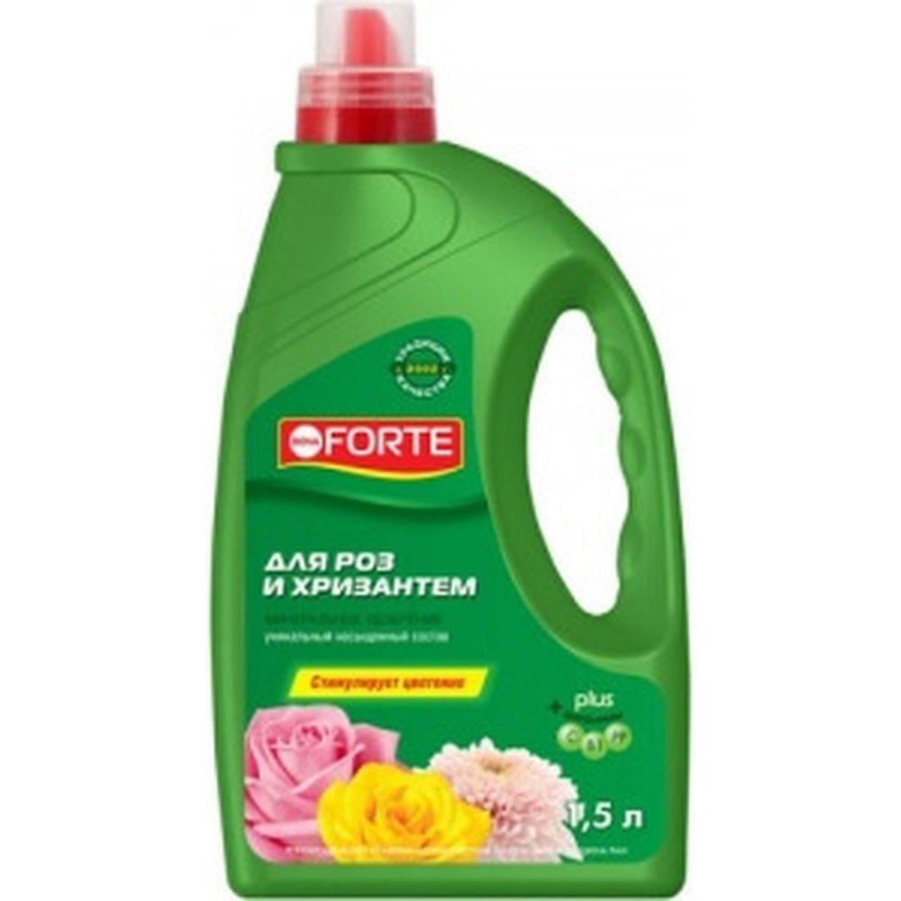 Жидкое минеральное удобрение для роз и хризантем (1.5 л) Bona Forte BF21040121