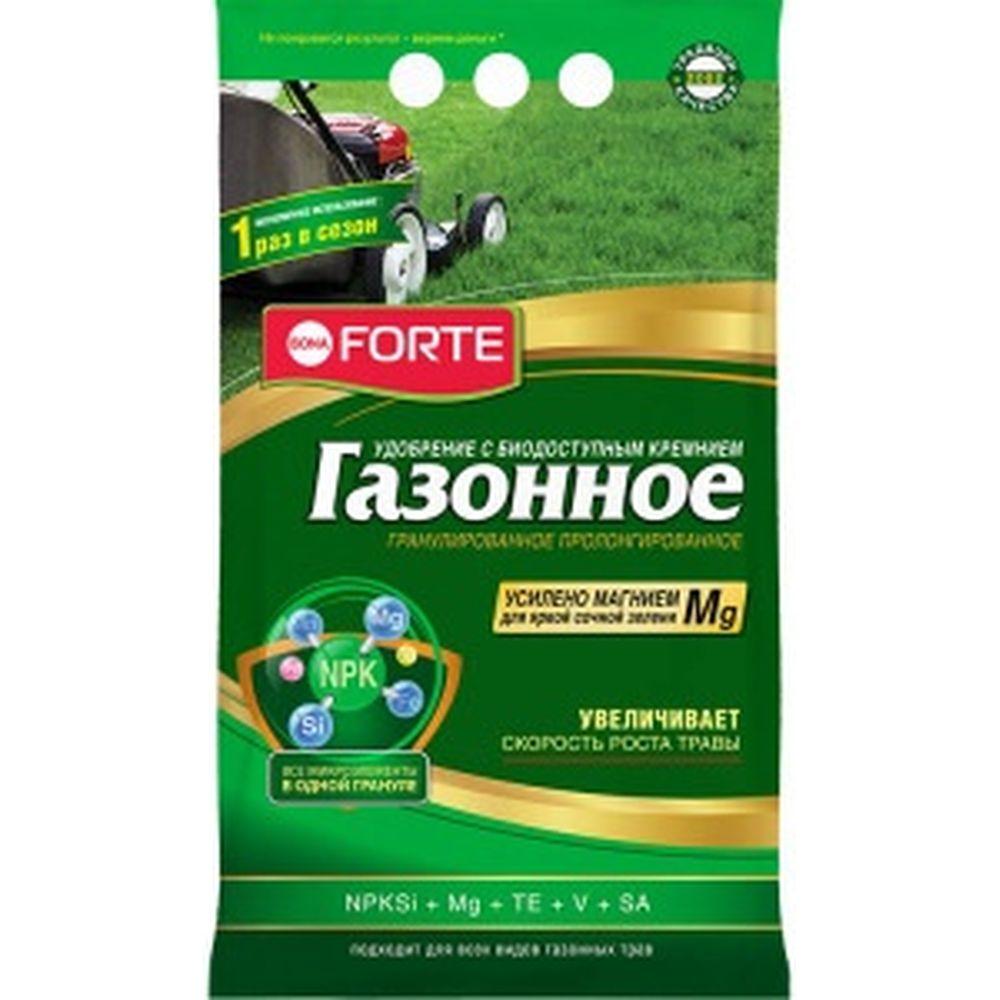 Газонное удобрение с кремнием Bona Forte 5 кг BF23010451