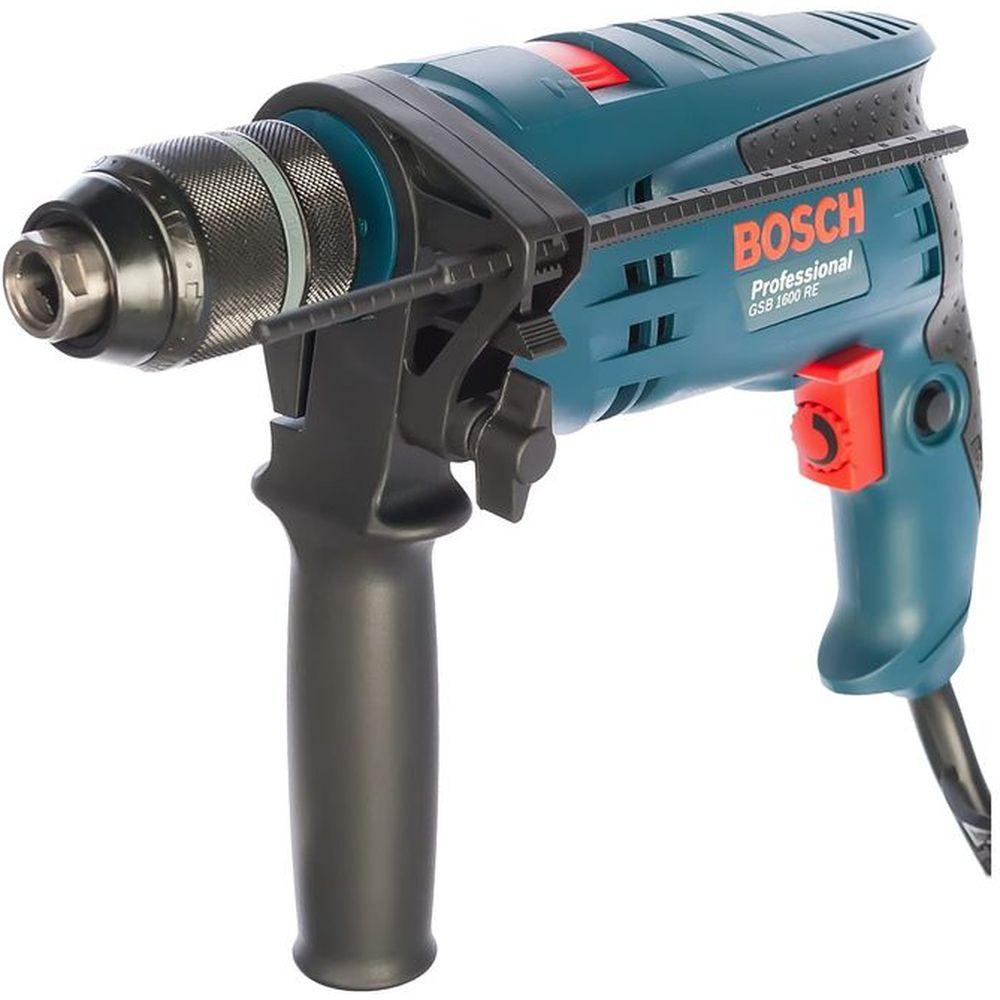 Ударная дрель Bosch GSB 1600 RE 0.601.218.121