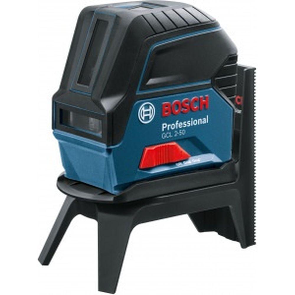 Комбинированный лазерный нивелир Bosch GCL 2-50 + RM1 + BM3 + LR6 + кейс 0.601.066.F01