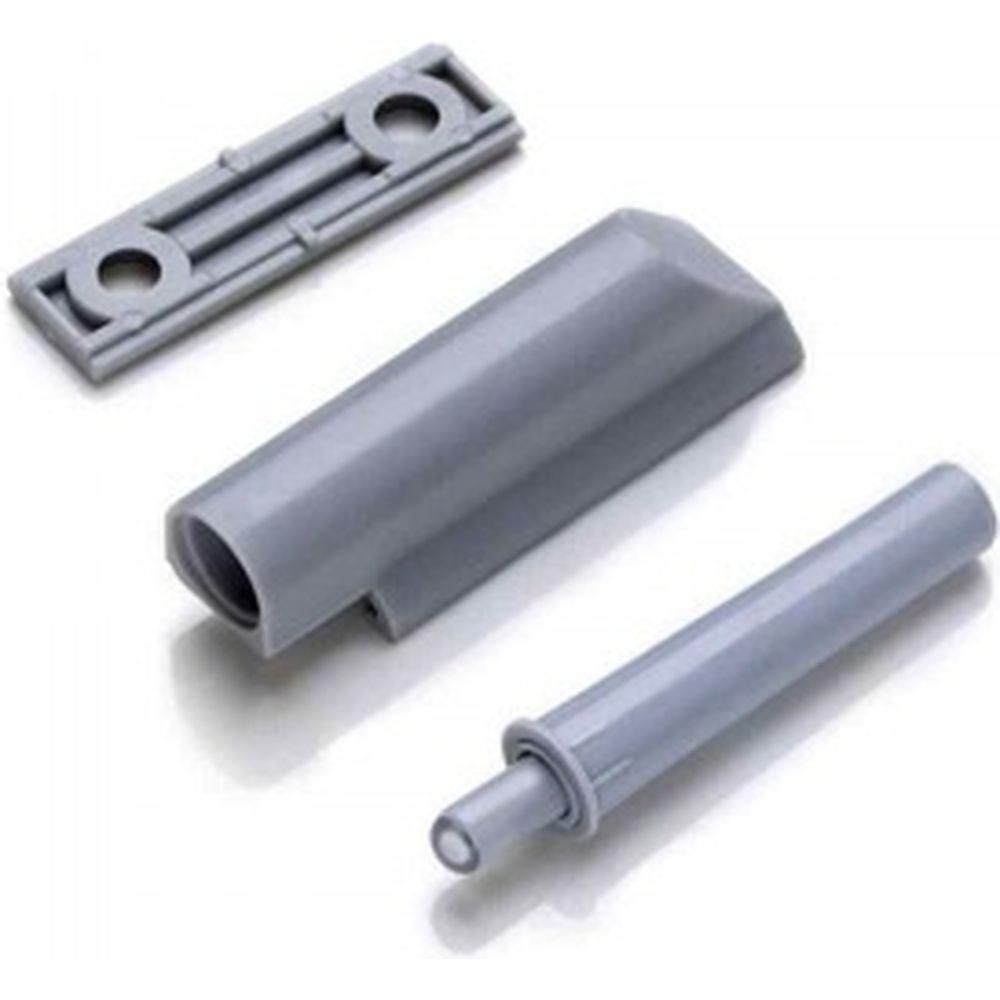 Амортизатор для плавного закрывания двери Brante серый со скрытым креплением 112932