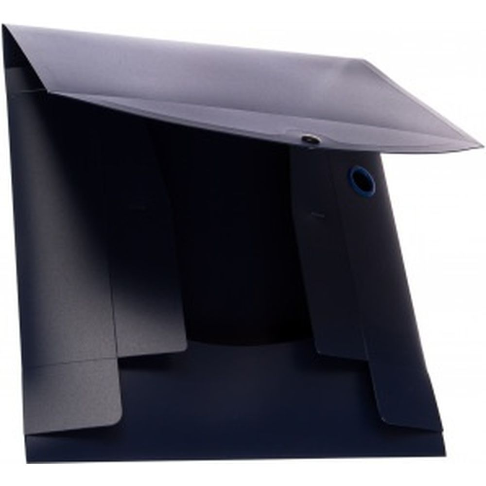 Архивный короб Energy, пластик, 7 см , разборный, синий BRAUBERG 231539