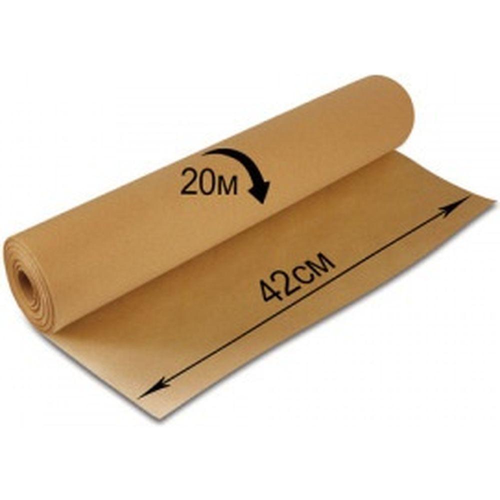 Крафт-бумага в рулоне, 420 мм х 20 м, плотность 78 г/м2, BRAUBERG 440144