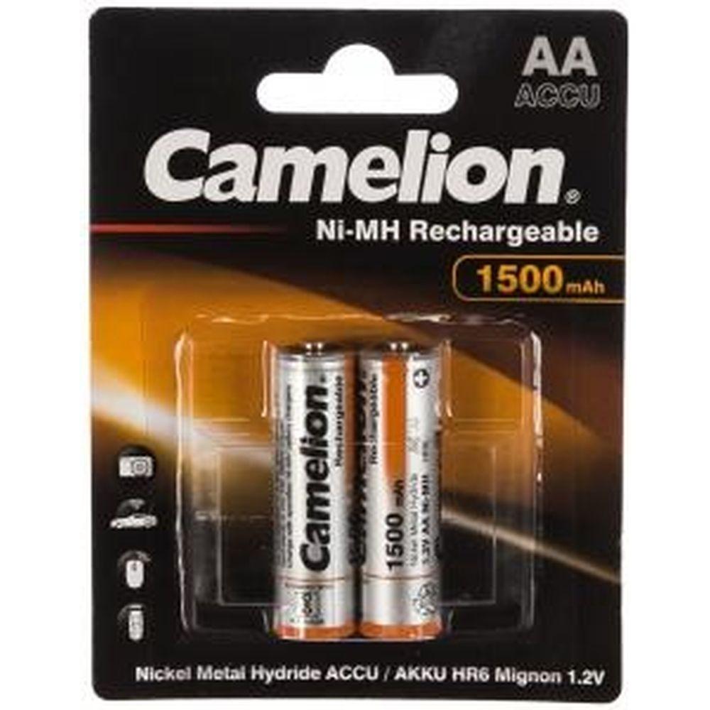 Аккумулятор 1.2В Camelion AA-1500mAh Ni-Mh BL-2, 3510