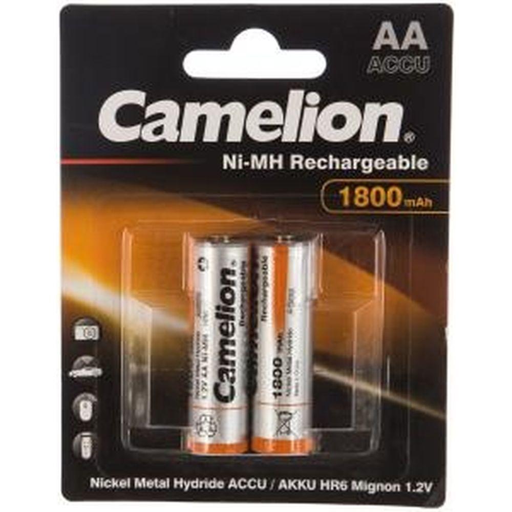 Аккумулятор Camelion 1.2В AA-1800mAh Ni-Mh BL-2, 3001