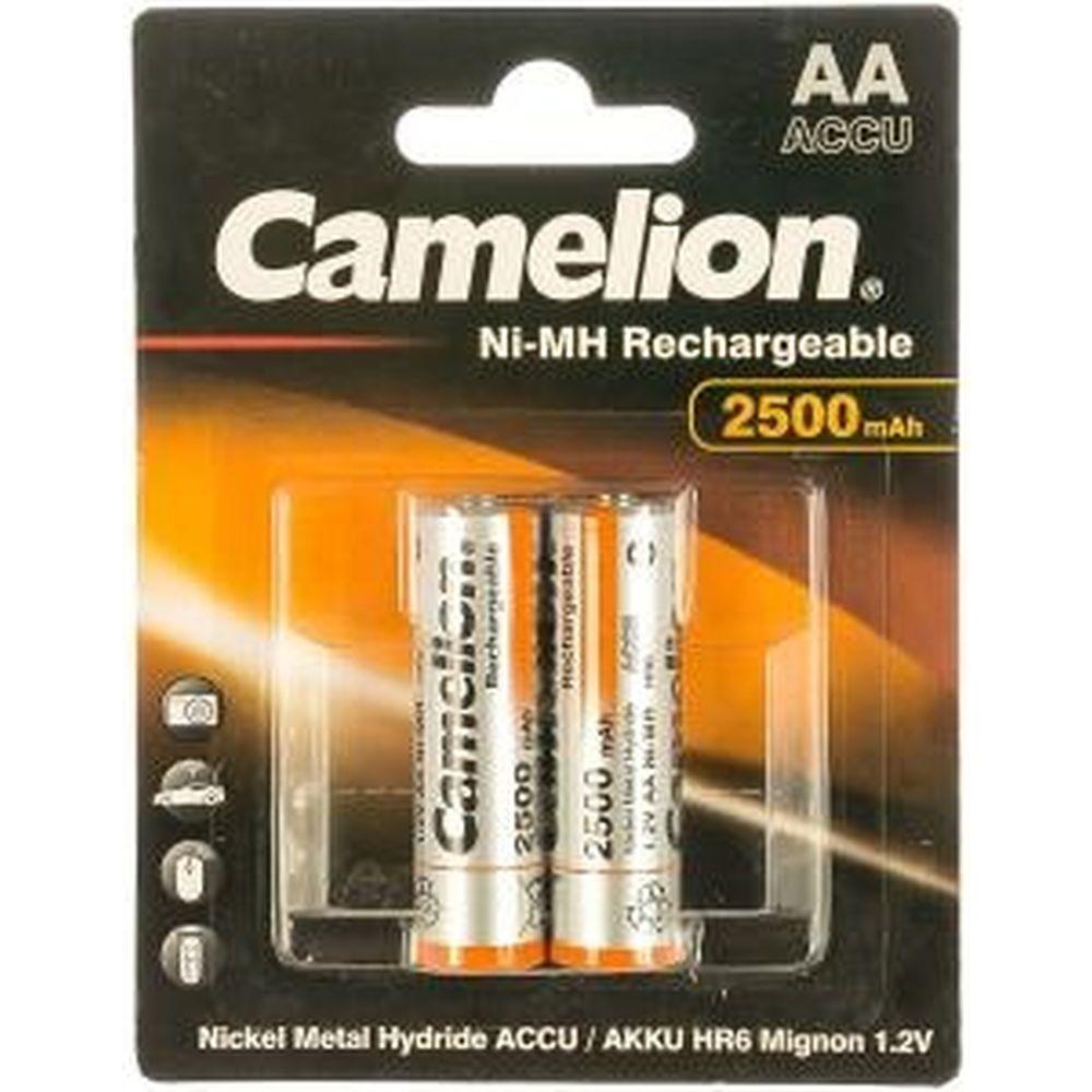 Аккумулятор Camelion 1.2В AA-2500mAh Ni-Mh BL-2, 6107