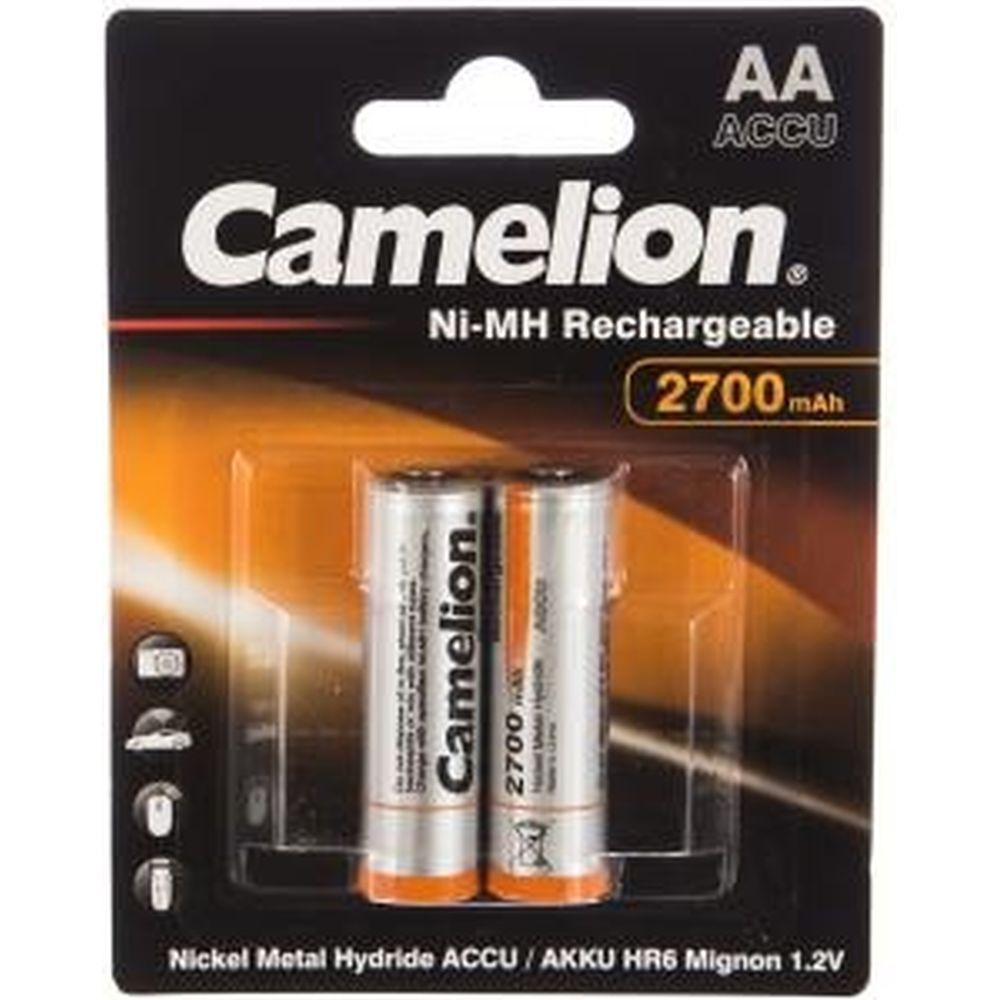 Аккумулятор Camelion 1.2В AA-2700mAh Ni-Mh BL-2,7371
