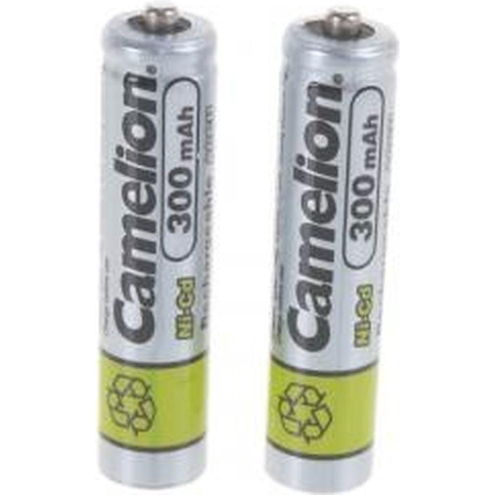 Аккумулятор Camelion 1.2В AAA-300mAh Ni-Cd BL-2, 3144
