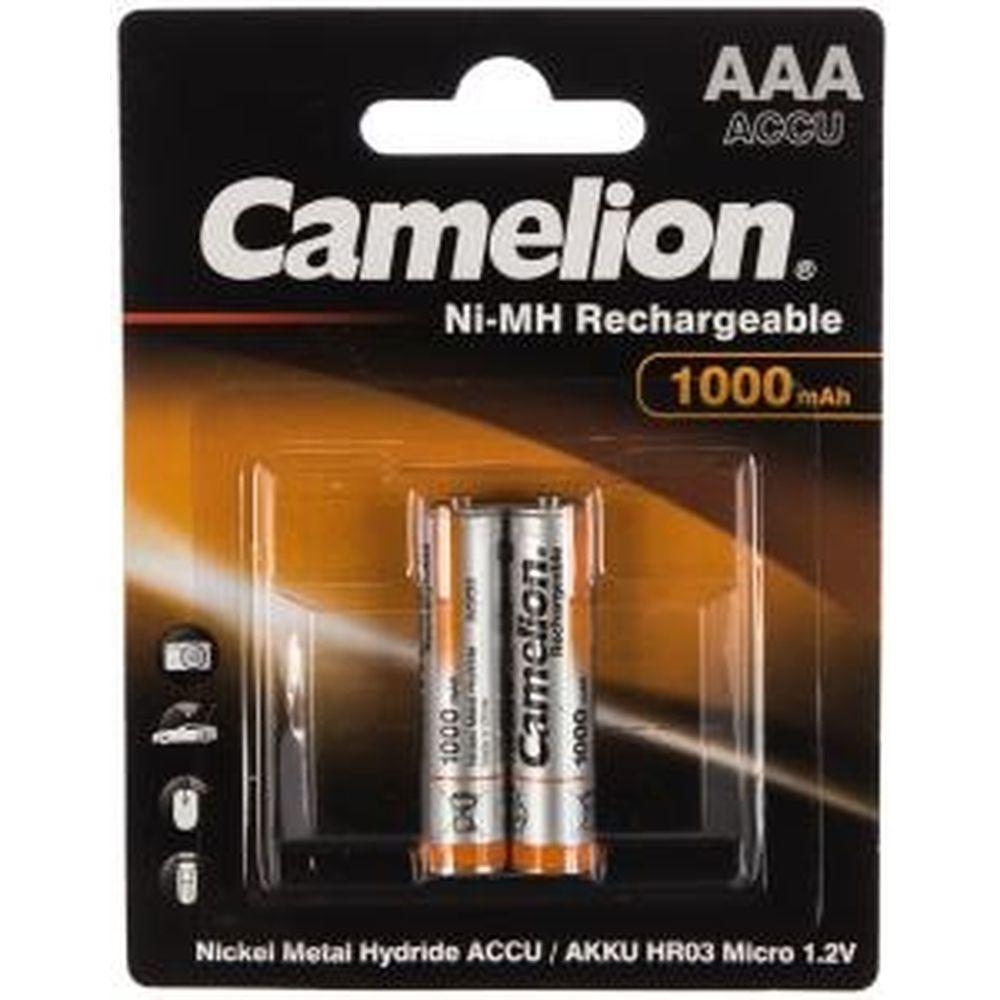 Аккумулятор Camelion 1.2В AAA-1000mAh Ni-Mh BL-2, 6182