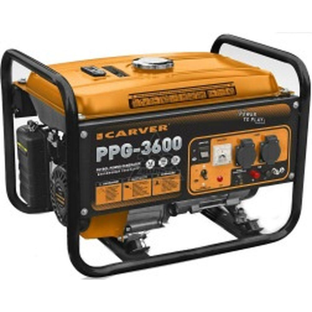 Бензиновый генератор CARVER PPG-3600 LT-168F-1 01.020.00003