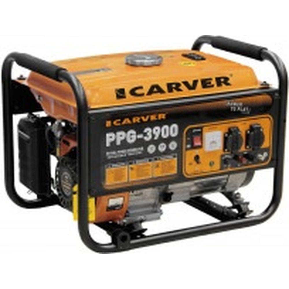 Бензиновый генератор CARVER PPG-3900 LT-170F 01.020.00007