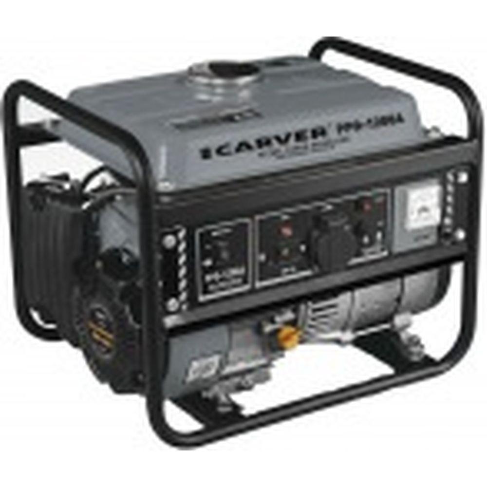 Бензиновый генератор CARVER PPG-1200А 01.020.00008