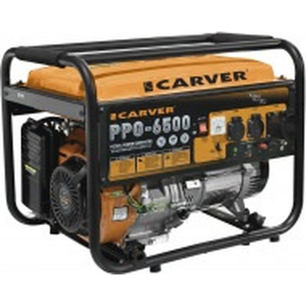 Бензиновый генератор CARVER PPG-6500 01.020.00018