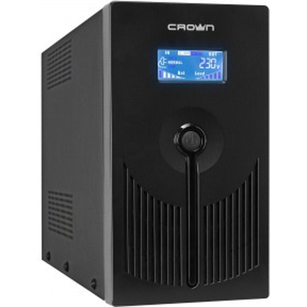 Источник бесперебойного питания CROWN CMU-SP1200EURO LCD USB CM000001872