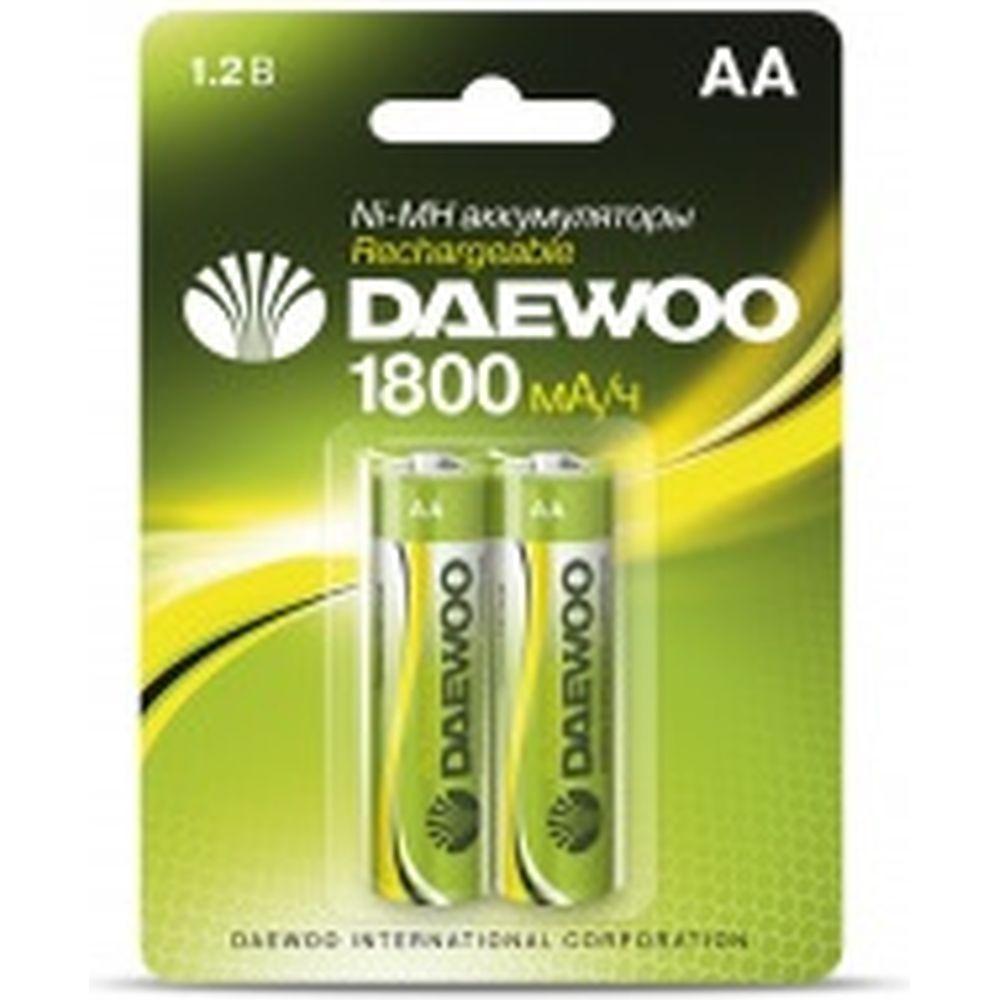 Аккумулятор Daewoo AA 1800mAh NI-MH BL-2 1037367