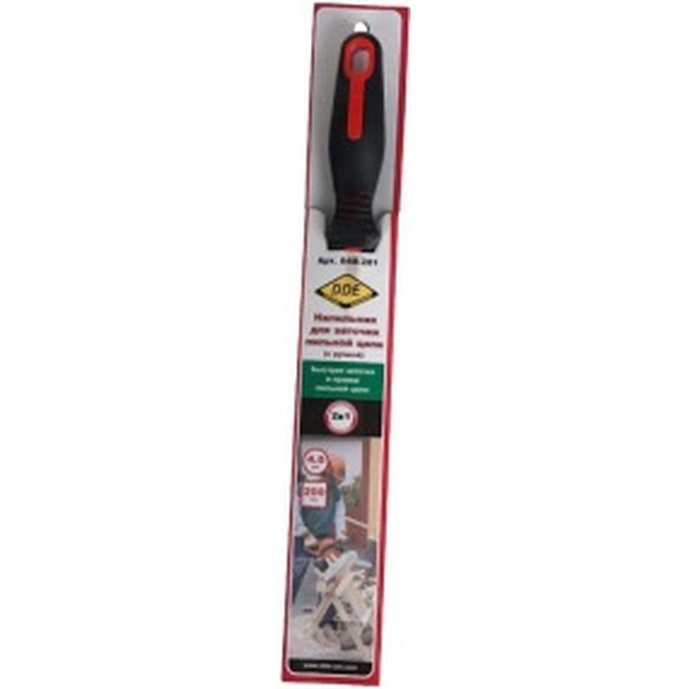 Напильник круглый с ручкой 4,0 мм - 5/32 DDE 648-281