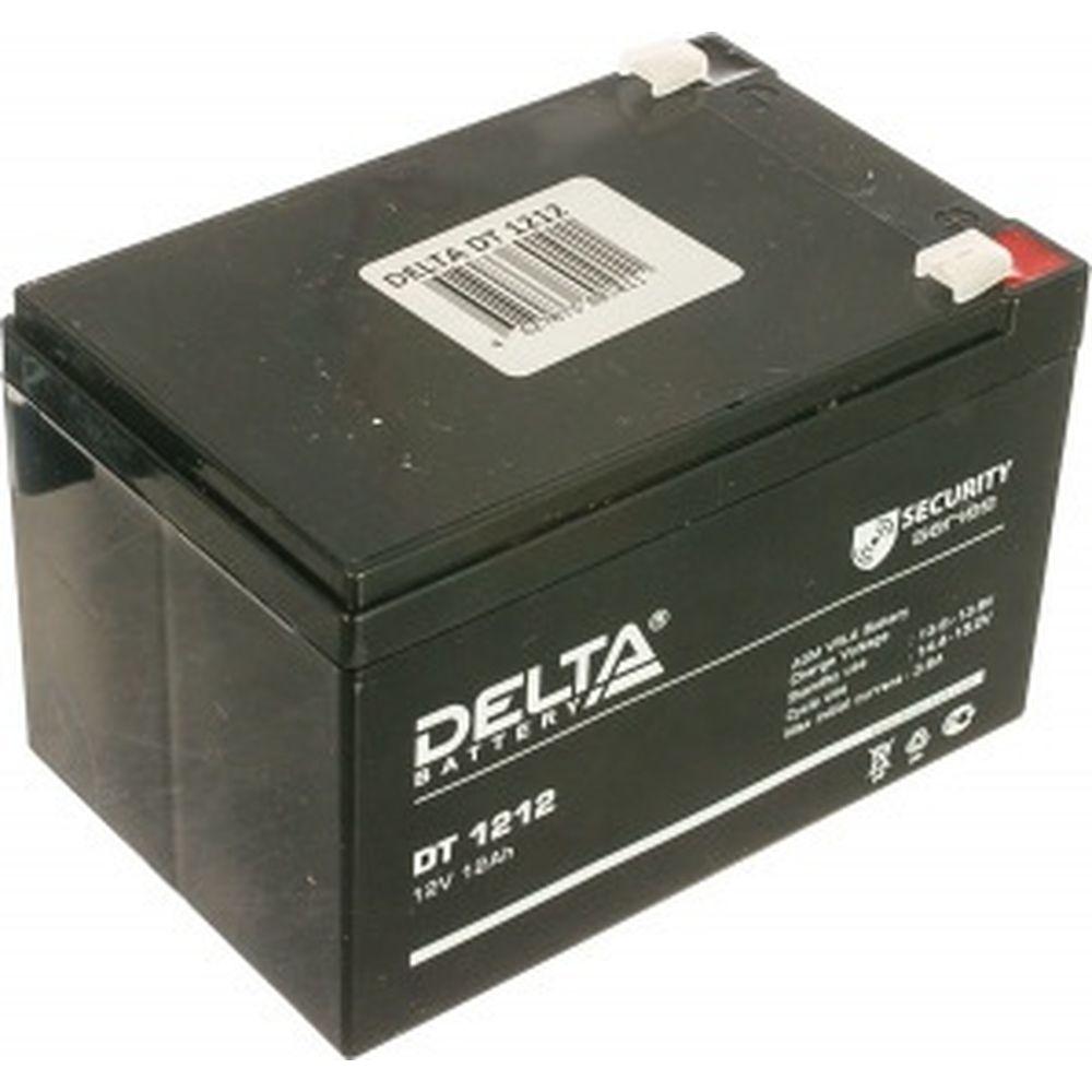 Батарея аккумуляторная Delta DT 1212