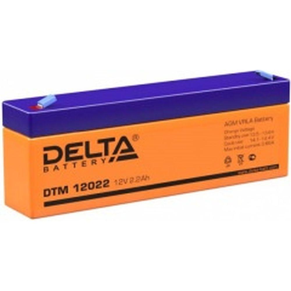 Батарея аккумуляторная Delta DTM 12022