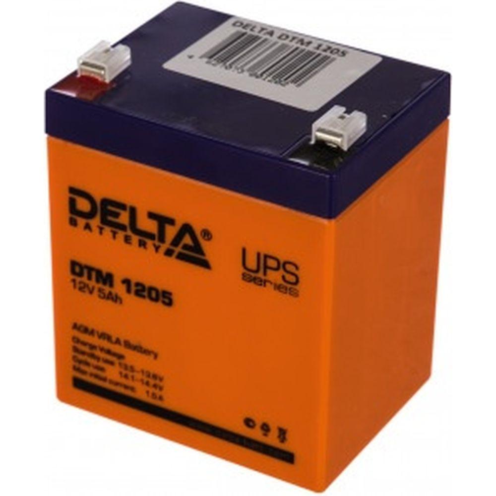 Батарея аккумуляторная Delta DTM 1205