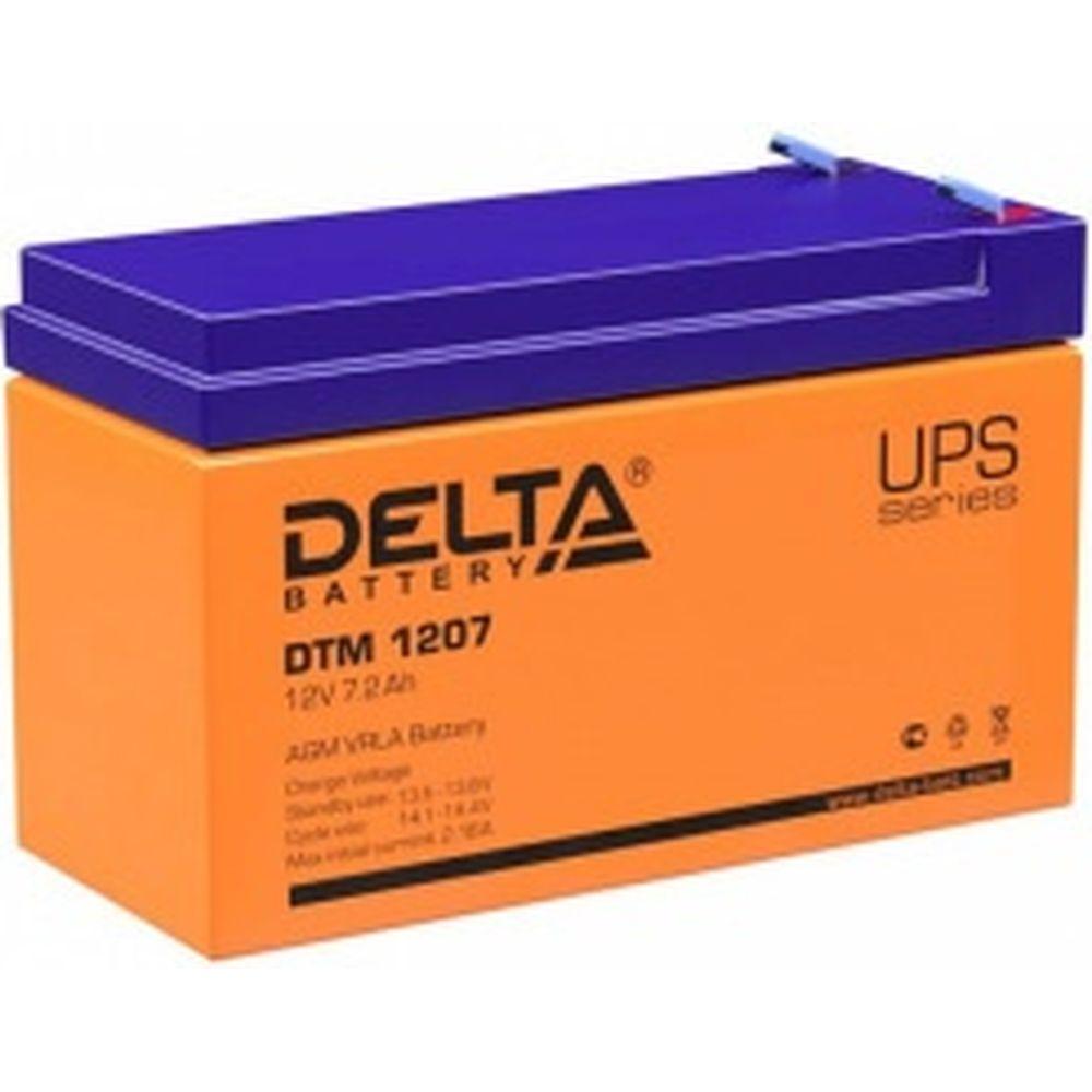 Батарея аккумуляторная Delta DTM 1207