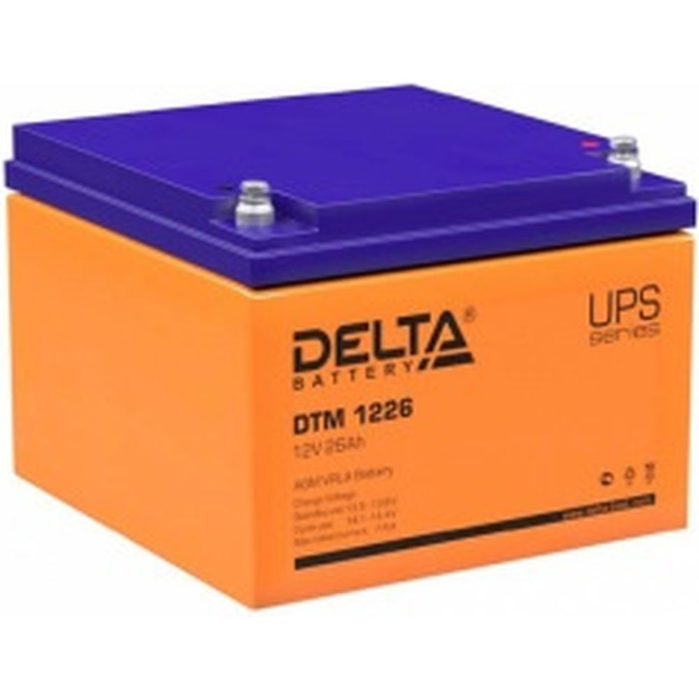 Батарея аккумуляторная Delta DTM 1226