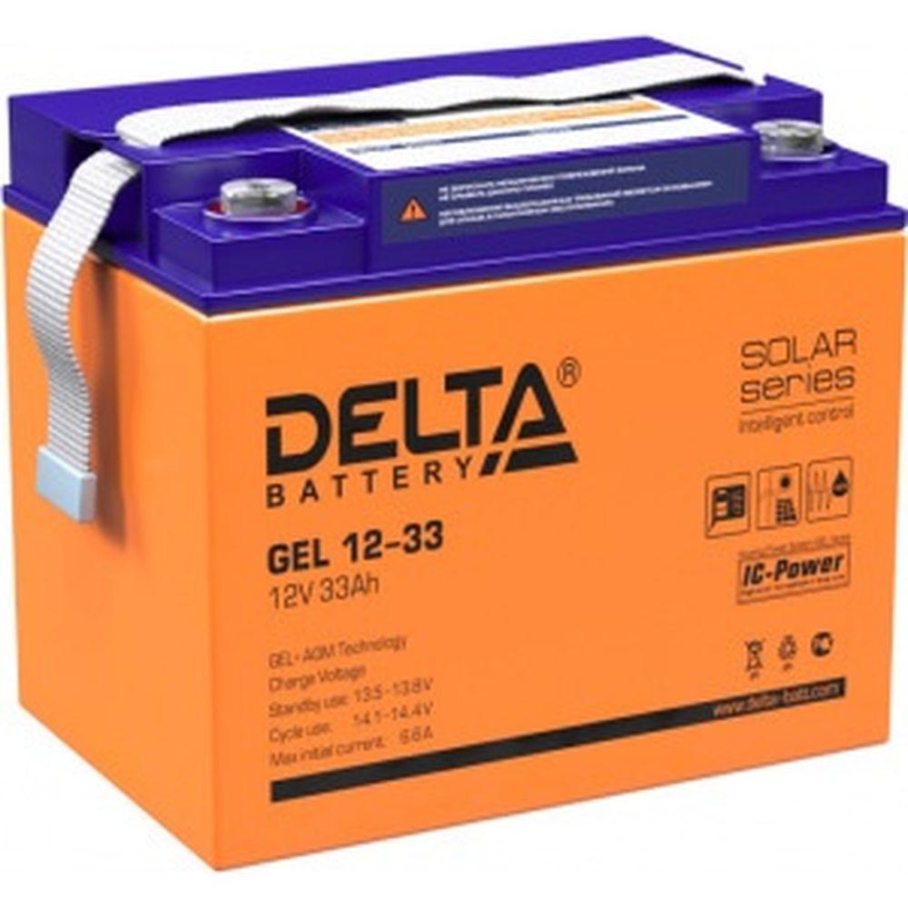 Батарея аккумуляторная Delta GEL 12-33