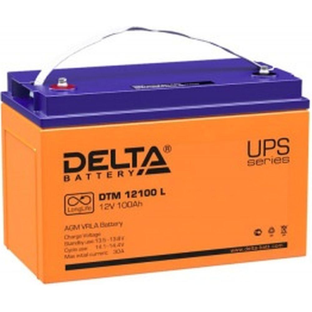 Батарея аккумуляторная Delta DTM 12100 L