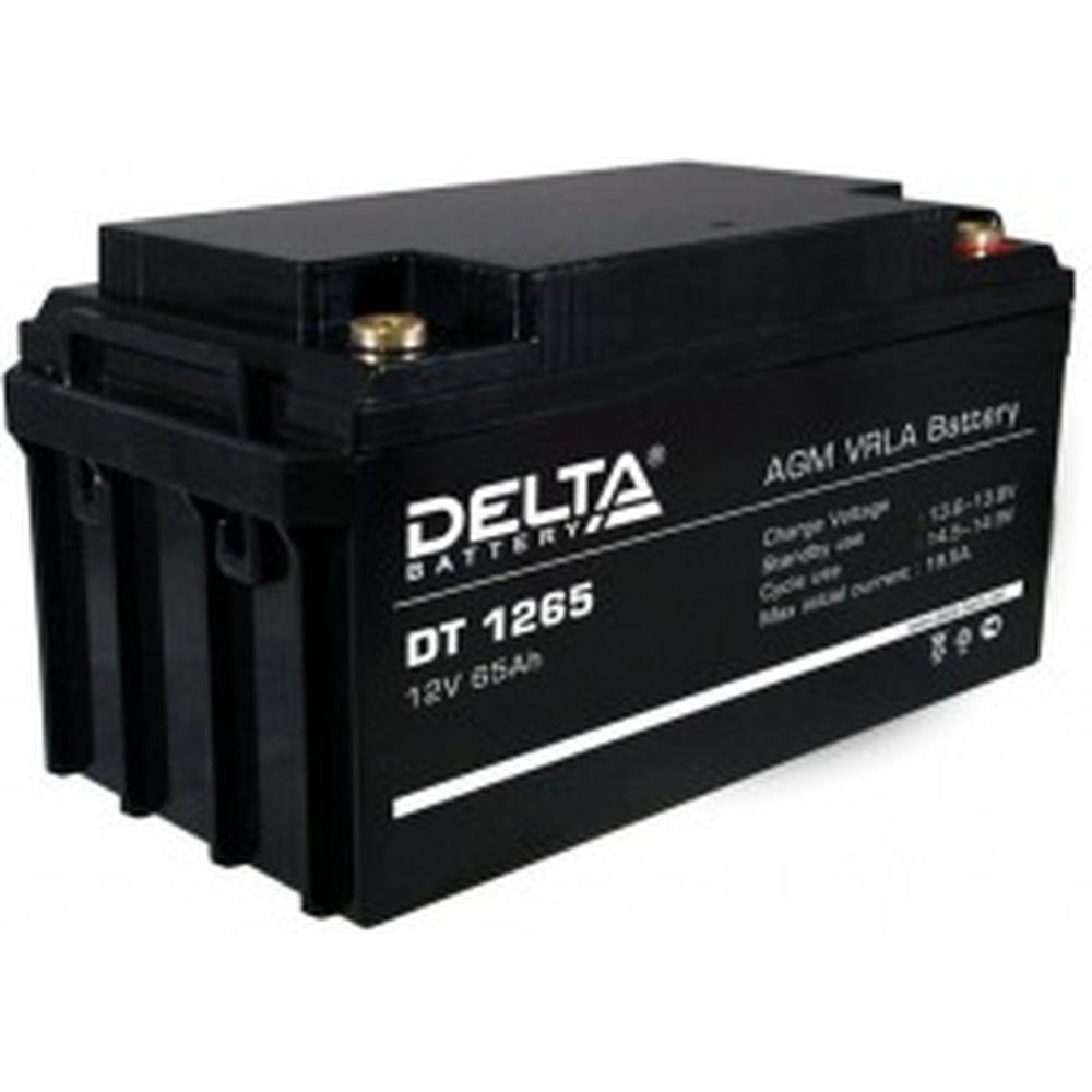 Батарея аккумуляторная Delta DT 1265