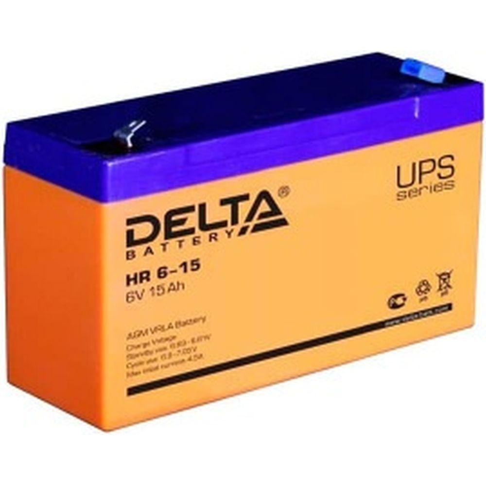 Батарея аккумуляторная Delta HR 6-15