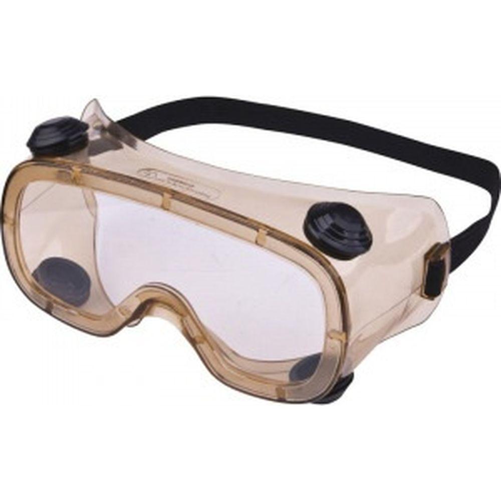 Закрытые защитные очки Delta Plus RUIZ1 с прозрачной ацетатной линзой RUIZ1VIAC