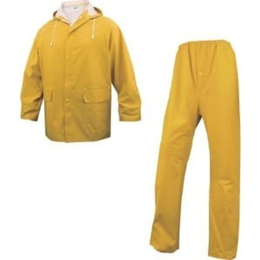 Влагозащитный костюм Delta Plus EN304 желтый, р. L EN304JAGT2