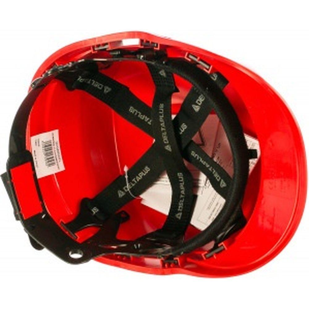 Защитная строительная каска Delta Plus DIAMONDV красная DIAM5ROFL