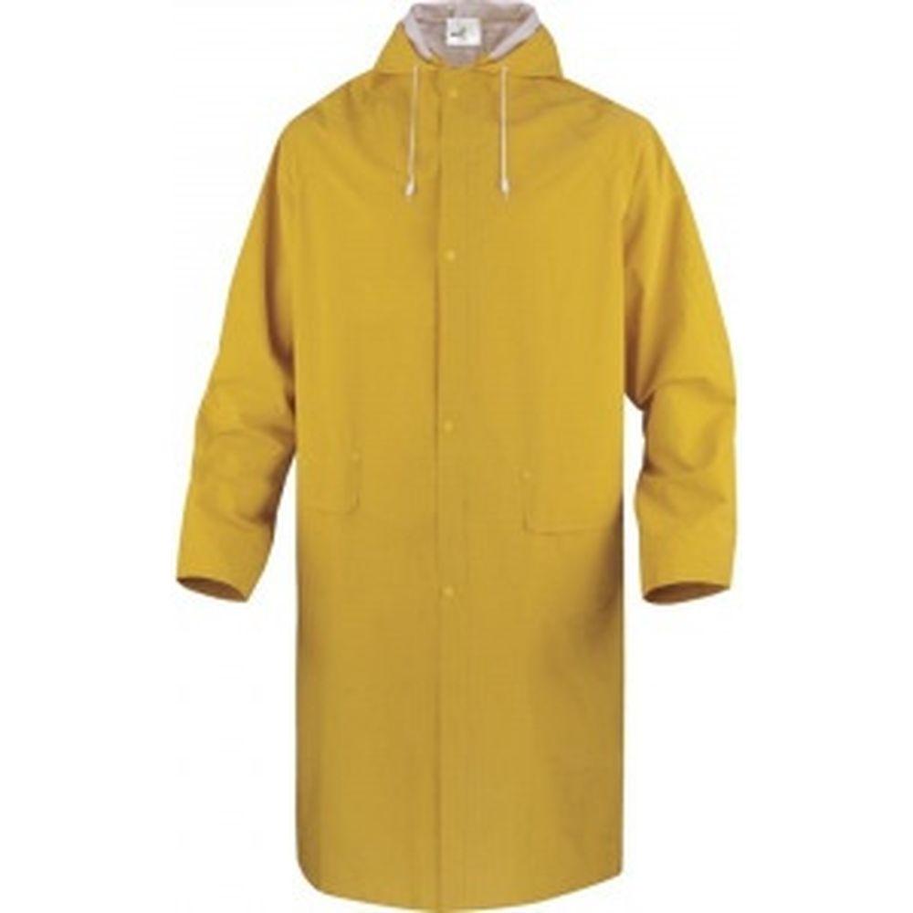 Влагозащитный плащ Delta Plus МА305, желтого цвета, р. XXL MA305JAXX2