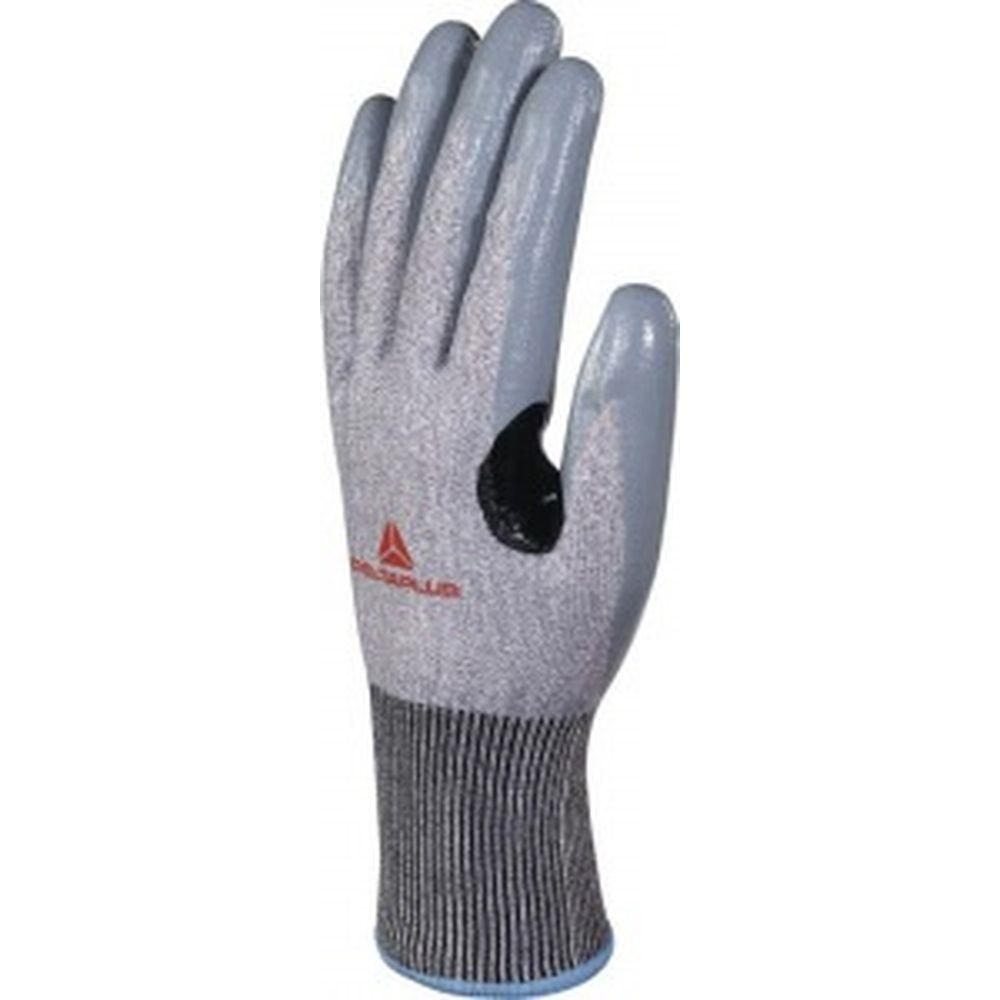 Антипорезные перчатки с нитриловым покрытием Delta Plus VENICUT41, р. 7 VECUT41GN07